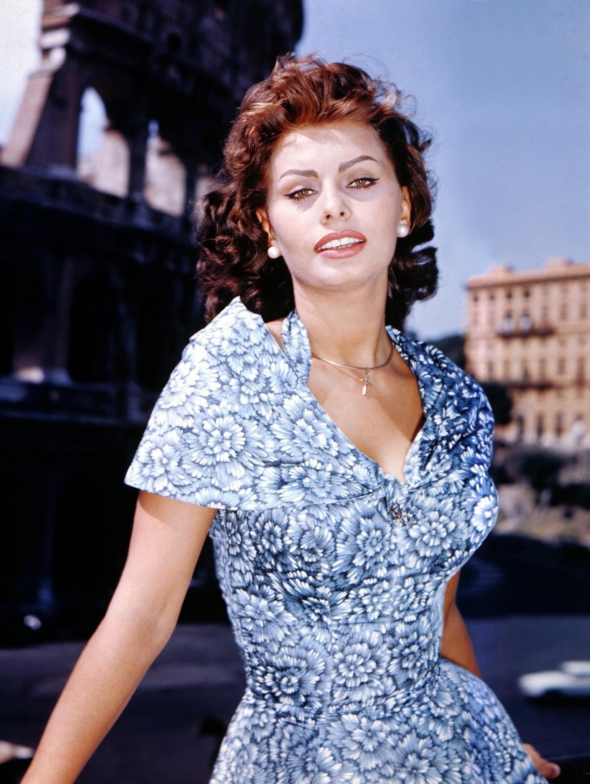 sophia loren fashion icon of the world - Sophia Loren Hair Color