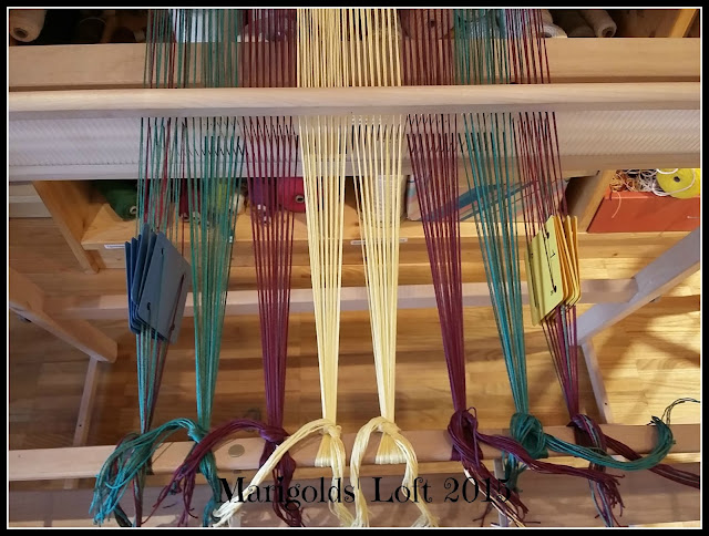 card weaving on rigid heddle
