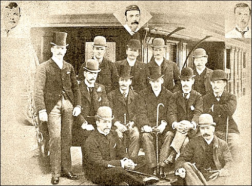 The First MCC Side To Tour South Africa Under Management Of Major Wharton 1888 89 Standing BAF Grieve AC Skinner AJ Fothergill JM Read R Abel