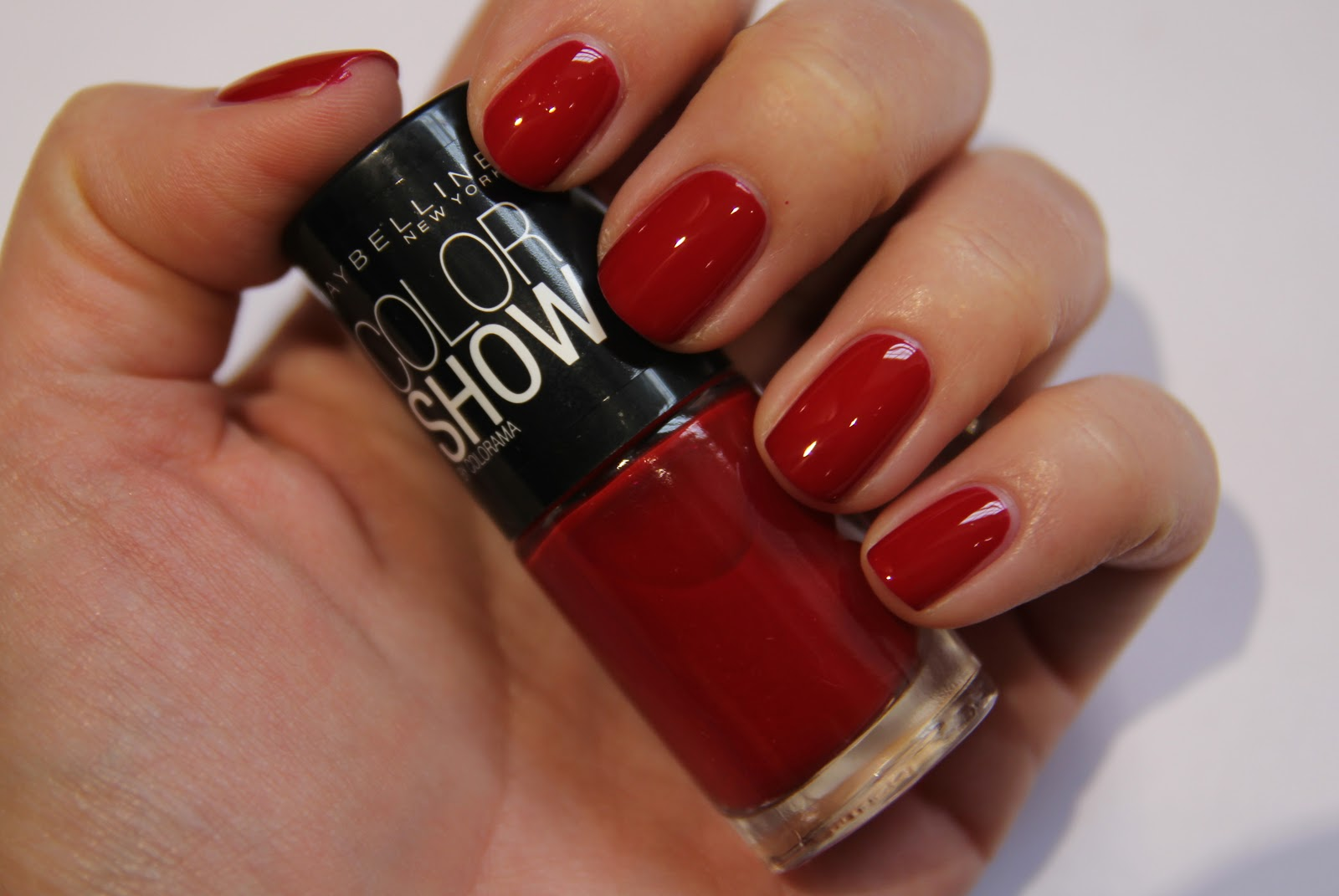 The Red Nails of London Fashion Week A/W 2013 - Fleur De Force