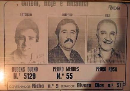 Roncador e o número 55. Dias, Bueno e Richa... Sobrenomes pré-históricos na política!