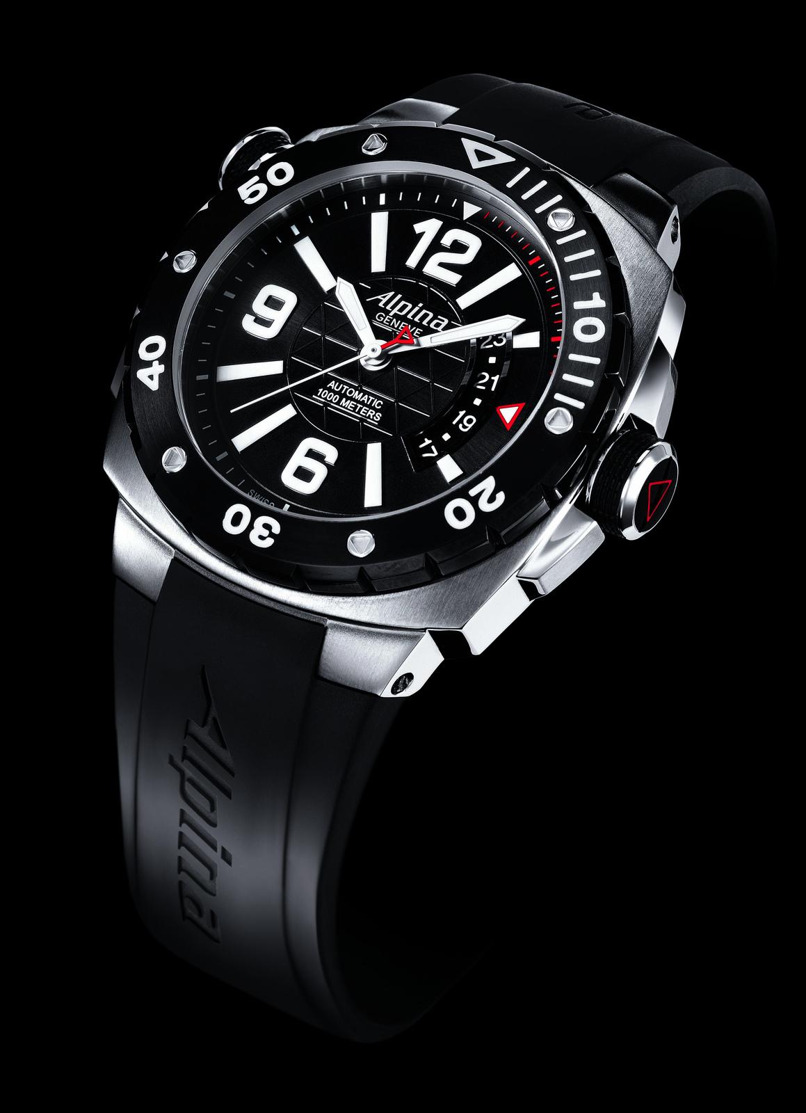 Random Photo Video Database Alpina Extreme Diver Watch - Alpina watch price