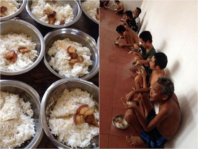 Bữa cơm được phản ánh bị ăn chặn tại trung tâm bảo trợ xã hội Nghệ An