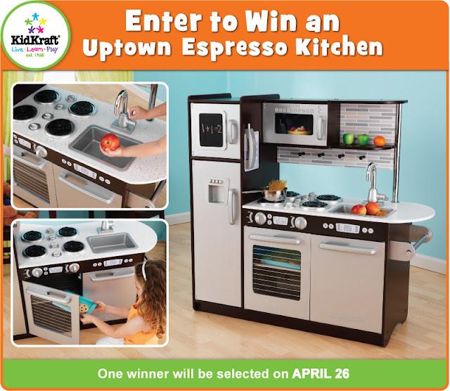 Kidkraft Toys Furniture Enter To Win An Uptown Espresso Kitchen
