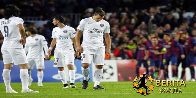 "Ibrahimovic Kecewa PSG Gagal ""Hukum"" Barcelona"