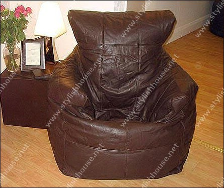 multi colored artificial leather bean bag seats. Black Bedroom Furniture Sets. Home Design Ideas
