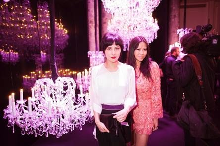 Josie Ho and Yvette Yung in ELIE SAAB Haute Couture