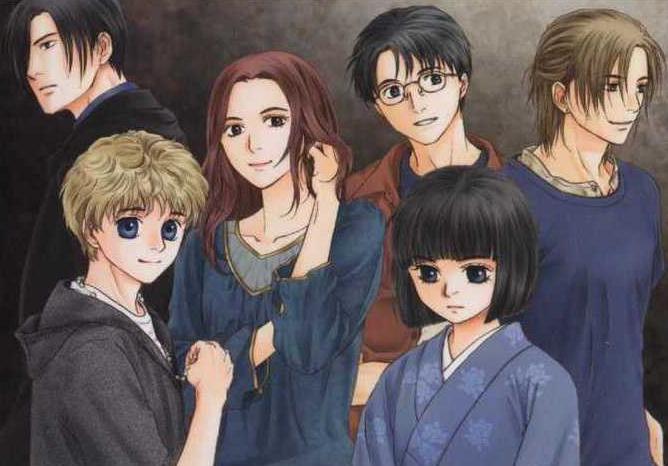 Ghost Hunt Manga Characters