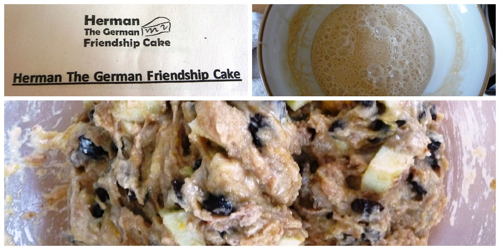 Herman The German Friendship Cake Recipe Uk