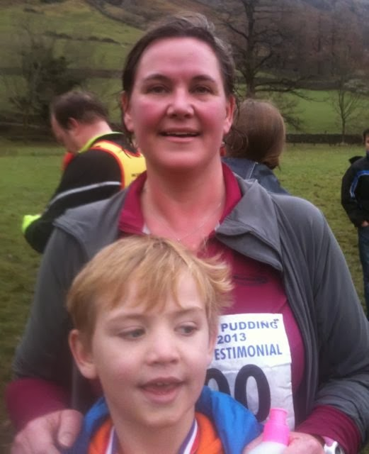 mother and son runners