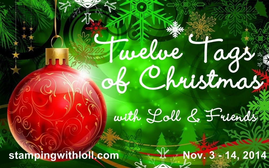 Mixed Media Christmas Tag Event - Nov. 3 - 14, 2014