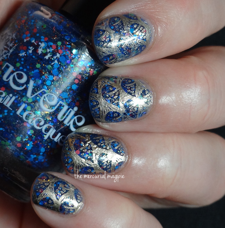 Reverie Nail Lacquer Dragonet Gold Stamping