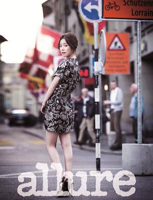 Han Ji Min - Allure Magazine July Issue 2013