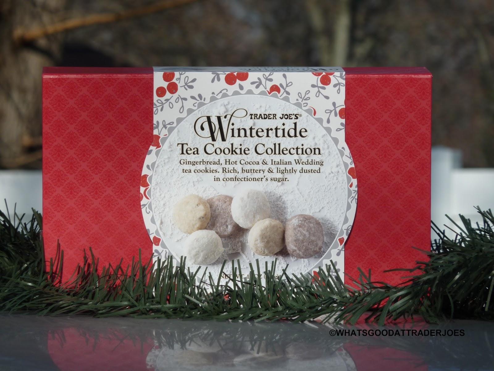 What's Good at Trader Joe's?: Trader Joe's Wintertide Tea Cookie ...