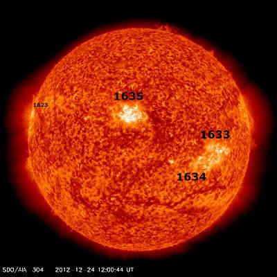 MANCHA SOLARES 24 DE DICIEMBRE 2012