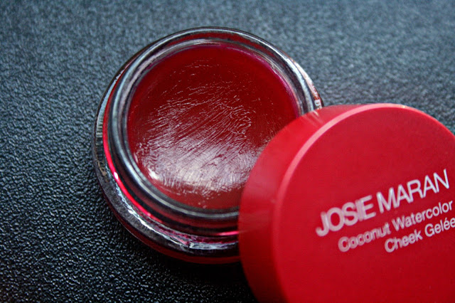 Josie Maran Coconut Watercolor Cheek Gelee in Pink Escape