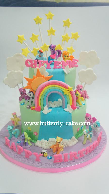 Butterfly Cake: My Lit...
