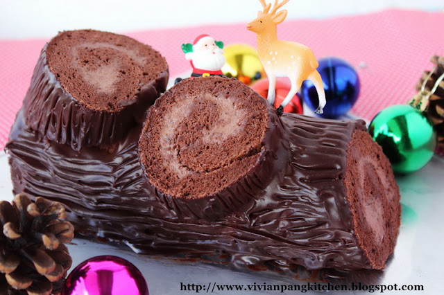 cake recipe christmas chocolate yule log christmas chocolate log ...