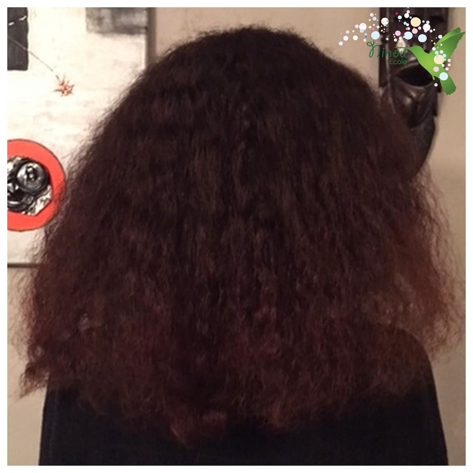 Brosse cheveux longs boucles