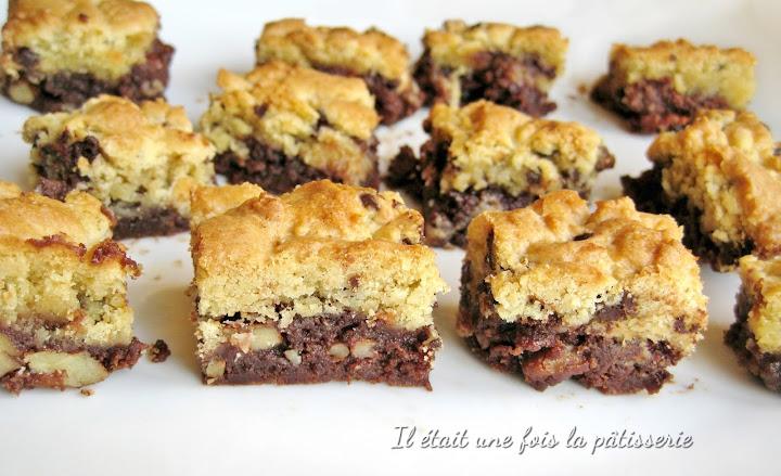 Recette de brookies : gâteau mi-cookies, mi-brownies