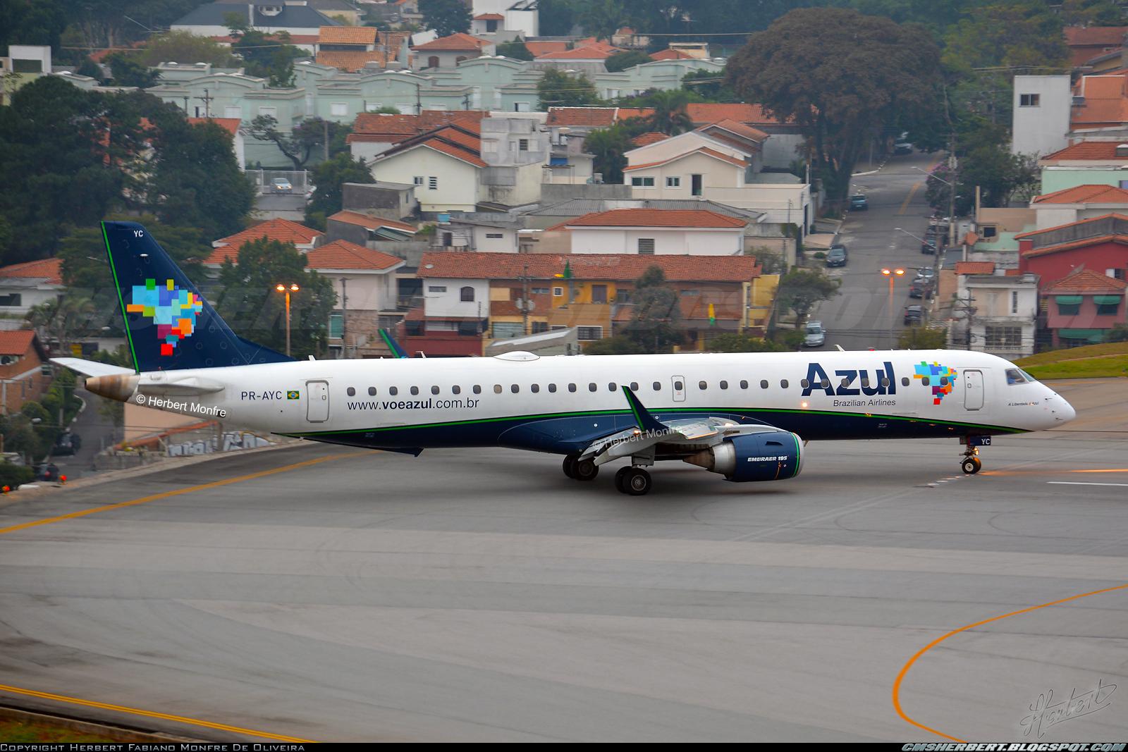 É MAIS QUE VOAR | Azul completa um ano em Congonhas com cerca de 400 mil passageiros transportados