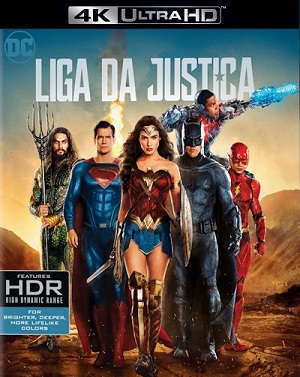 Liga da Justiça - 4K Ultra HD Filmes Torrent Download capa