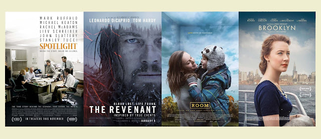 Oscars 2016 : Spotlight, The Revenant, Room, Brooklyn