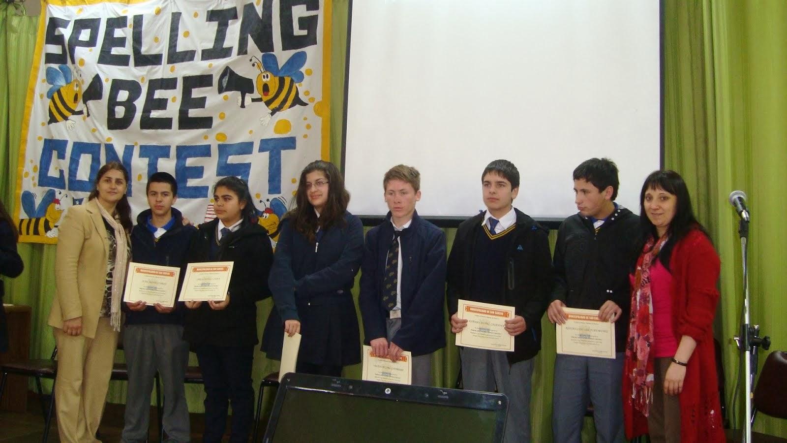 Concurso Comunal de Inglés Spelling Bee Contest