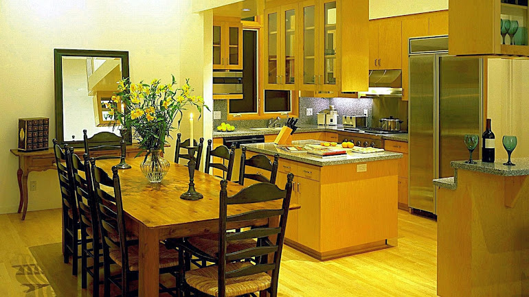 Interior Kitchen and dining room