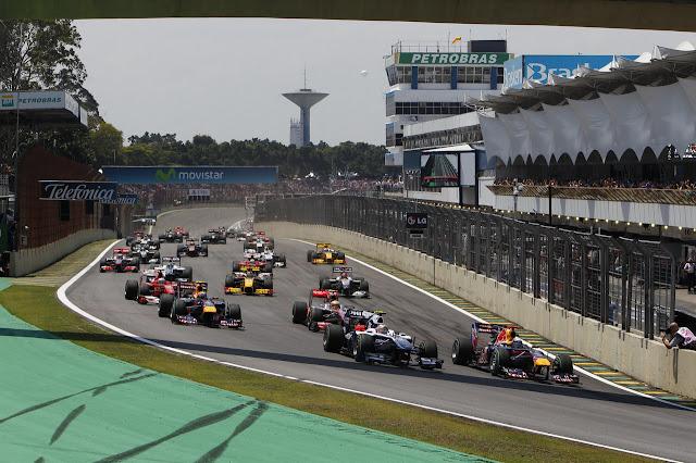 2012 Brazilian Formula 1™ Grand Prix Autódromo José Carlos Pace,