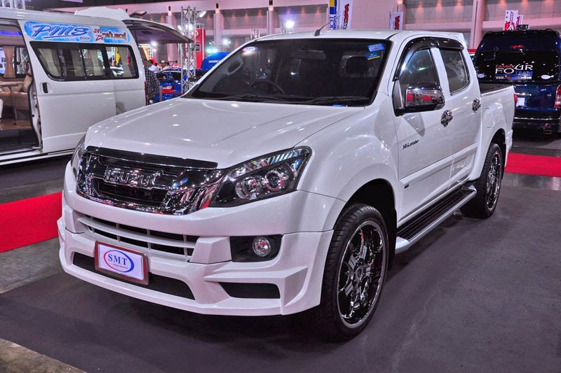 Modifikasi Mobil Isuzu D-Max 2014