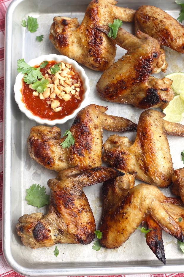 chili garlic sauce chicken wing recipe