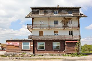 Abandoned building, Schlucht Ski Station, Les Vosges, Stéphanie Kilgast