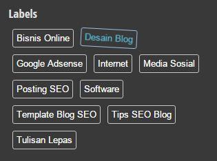 Modifikasi Widget Label Blog Biar Lebih Menarik