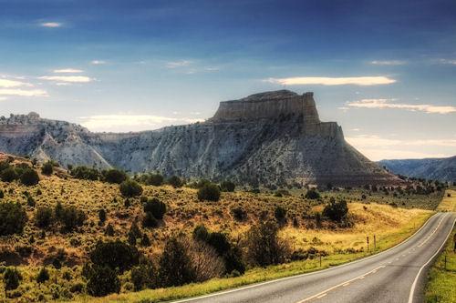 Carretera tranquila - Quiet Road (1920x1200px)