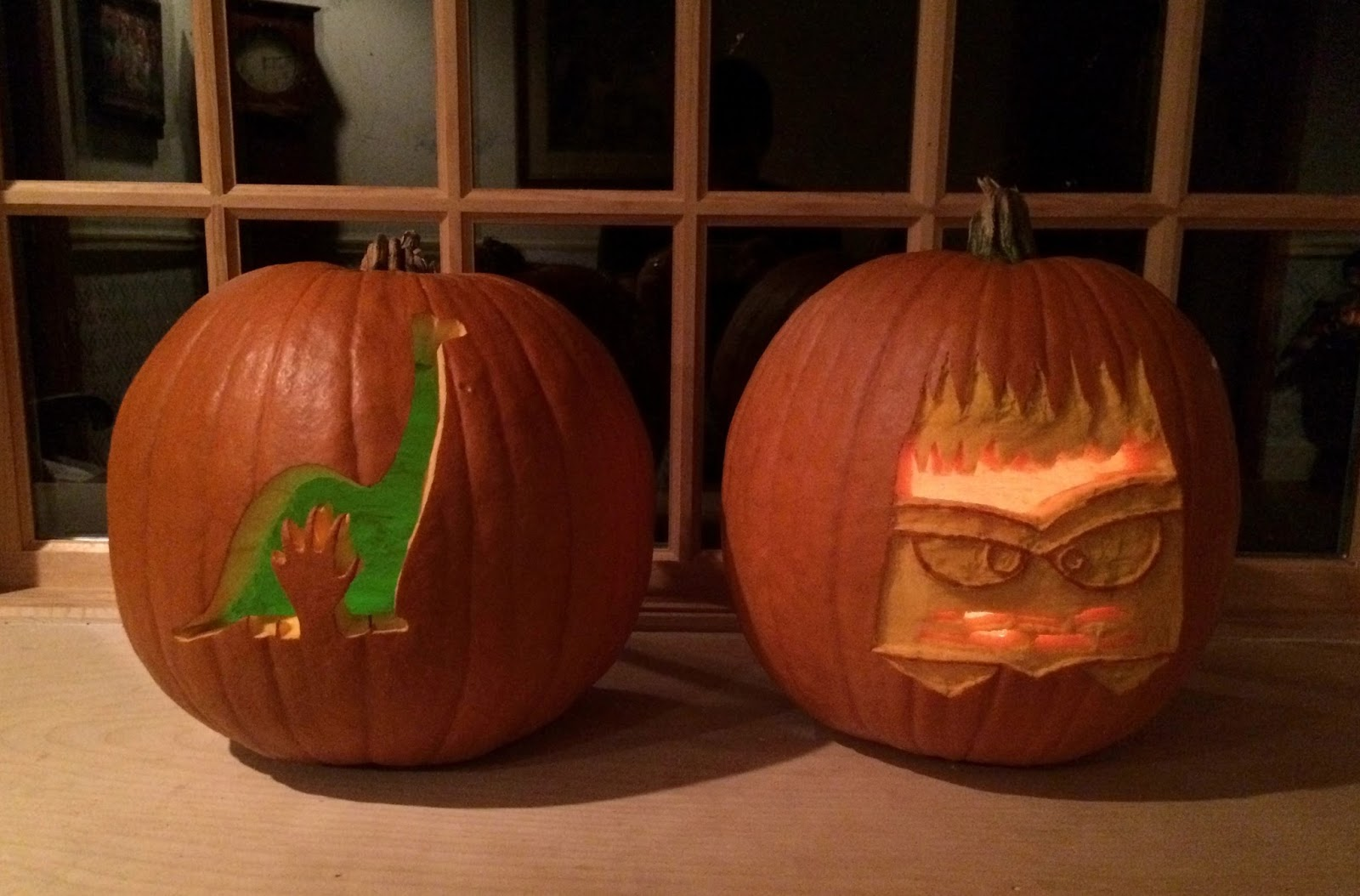 dan the pixar fan  events  pixar themed pumpkin carving  2015