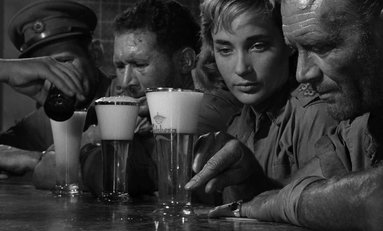 John Mills Sylvia Syms Ice Cold in Alex