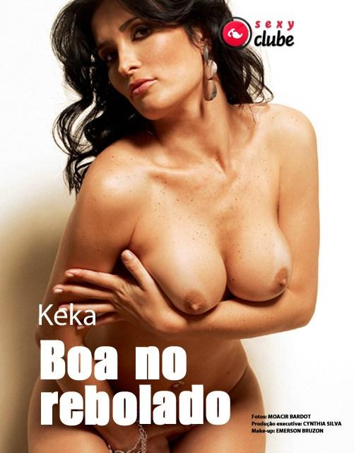 Confira as fotos da modelo Ângela Bismaarchi, e a modelo Keka na Sexy Premium de outubro de 2008!