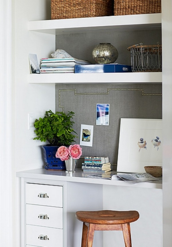 Desk In Kitchen