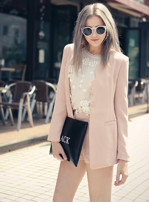 Stella Scalloped Lapel Jacket
