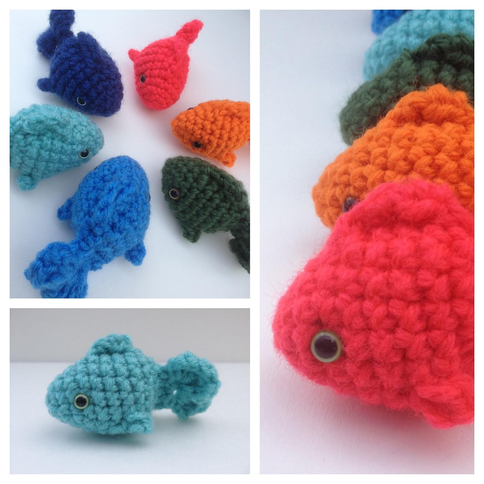 Amigurumi Crochet Fish Pattern : The Itsy Bitsy Spider Crochet: Lil Fishy