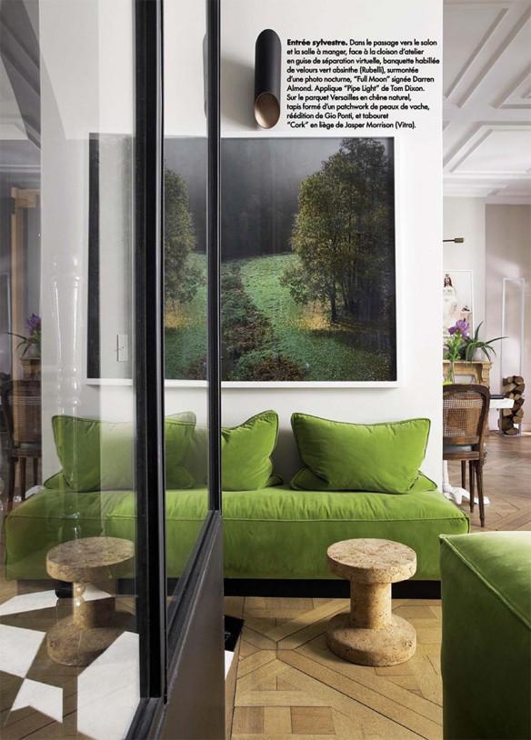 Parisian Green Touches