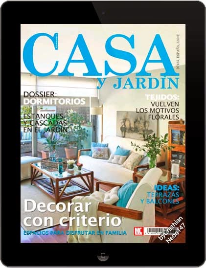 Revista casa y jard n junio 2014 espa ol decorar con for Casa jardin revista