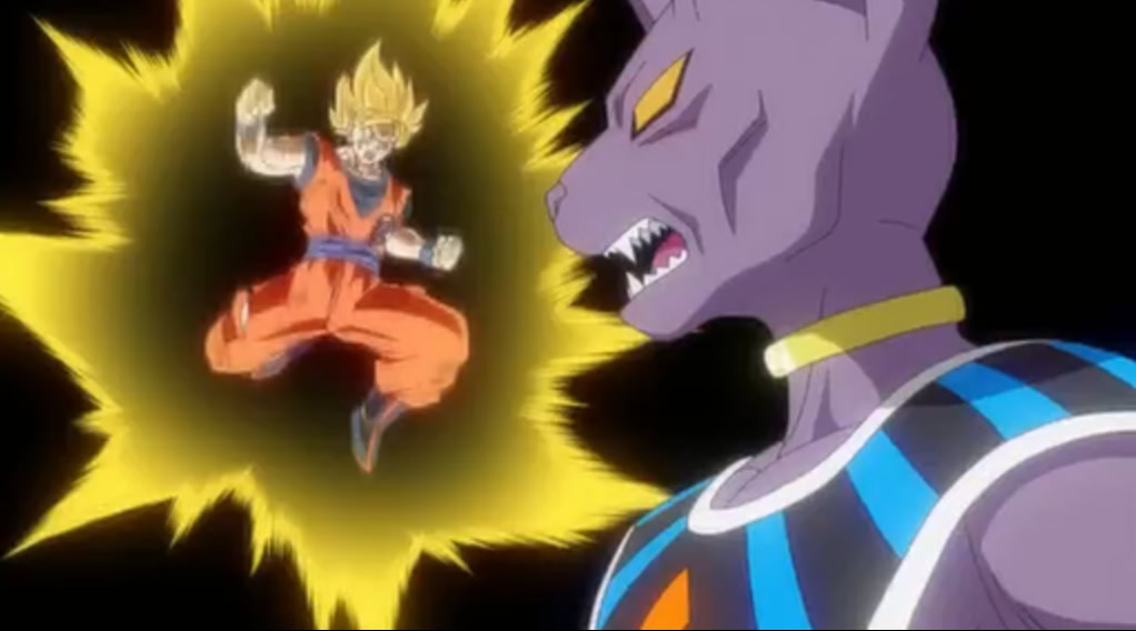 Son Goku versus Lord Bills