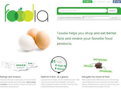Foodia.com – Find rate & review your favorite food products