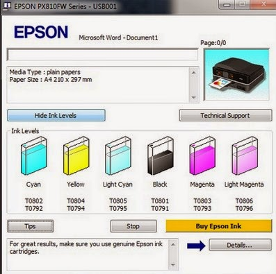 Resetter Epson L200 Free Download