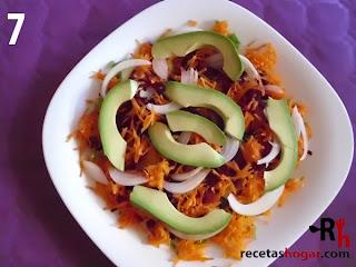Recetas de cocina: Ensalada mediterránea - Paso 7