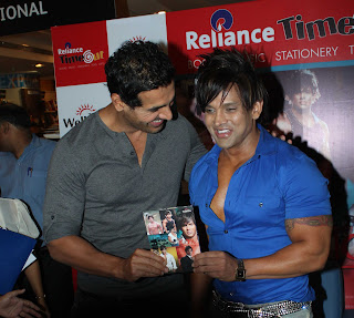 Actor John Abraham launches Yash Birla's fitness DVD