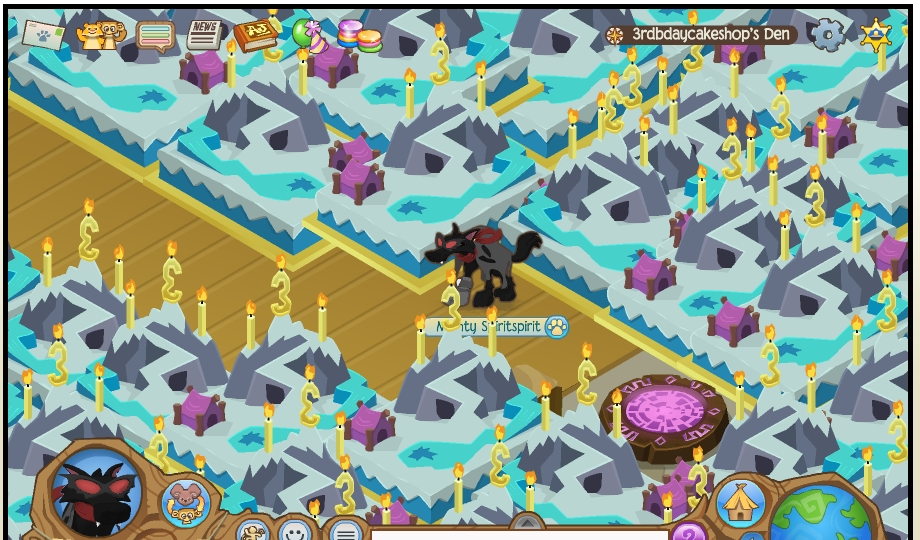 Animal Jam Scammer Watch Cool dens PORTAL CRAZINESS