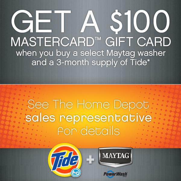 Tide Maytag Promotion